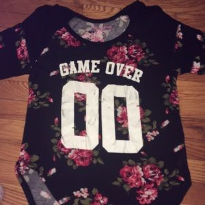 Game Over 00 t shirt